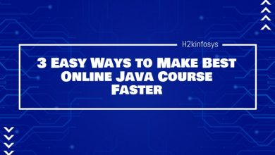 Photo of 3 Easy Ways to Make Best Online Java Course Faster