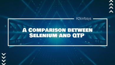 Photo of A Comparison between Selenium and QTP