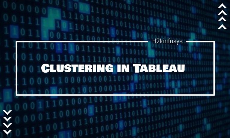 Clustering in Tableau