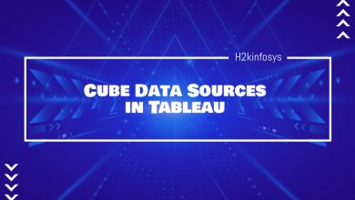 Photo of Cube Data Sources in Tableau