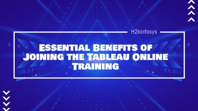 Photo of Essential Benefits of Joining the Tableau Online Training