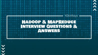 Photo of Hadoop & MapReduce Interview Questions & Answers
