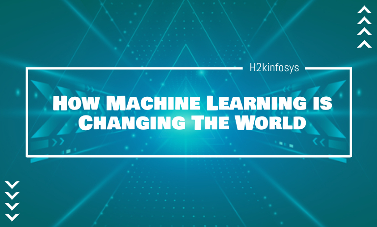 How Machine Learning is Changing The World