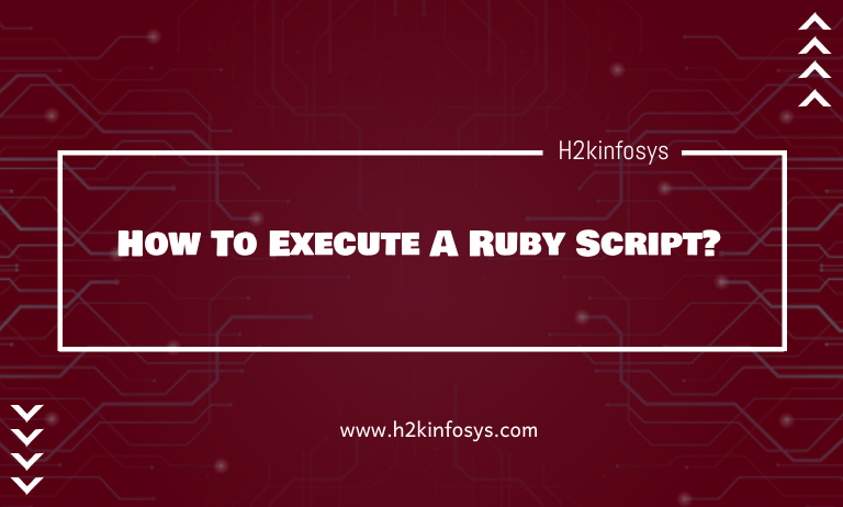 How To Execute A Ruby Script