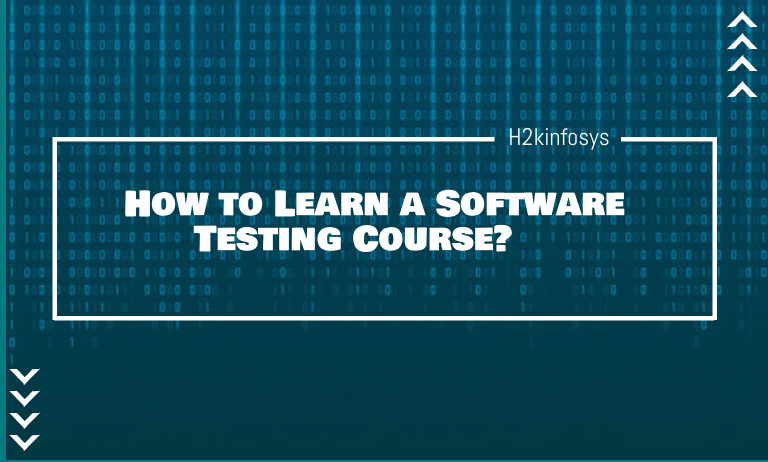 How to Learn a Software Testing Course