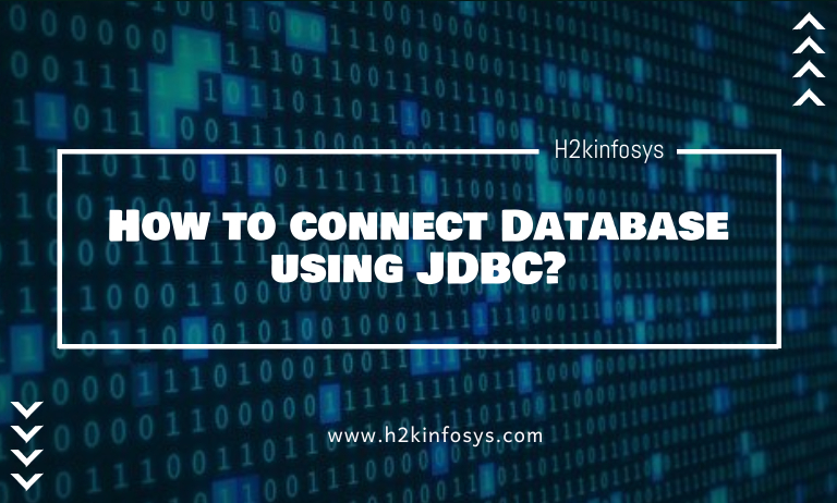 How to connect Database using JDBC