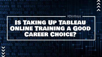 Photo of Is Taking Up Tableau Online Training a Good Career Choice?