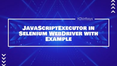 Photo of JavaScriptExecutor in Selenium WebDriver with Example