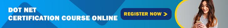 Dot Net Certification Course Online