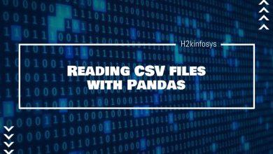 Photo of Reading CSV files with Pandas