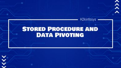 Photo of Stored Procedure and Data Pivoting