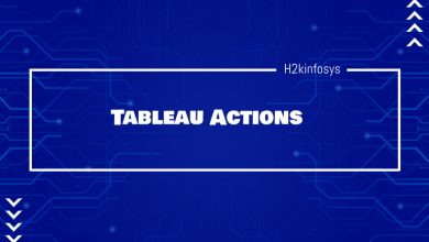 Photo of Tableau Actions