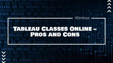 Photo of Tableau Classes Online – Pros and Cons