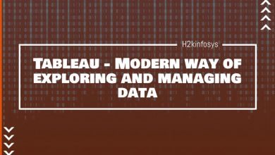 Photo of Tableau – Modern way of exploring and managing data