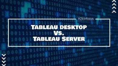 Photo of Tableau desktop Vs. Tableau Server