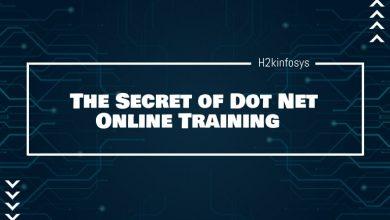Photo of The Secret of Dot Net Online Training