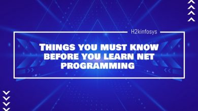Photo of Things you must know before you learn net programming