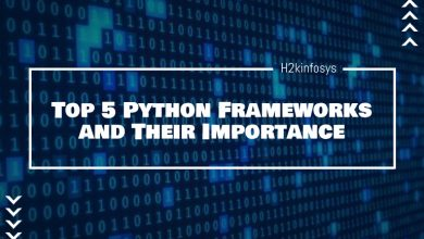 Photo of Top 5 Python Frameworks and Their Importance