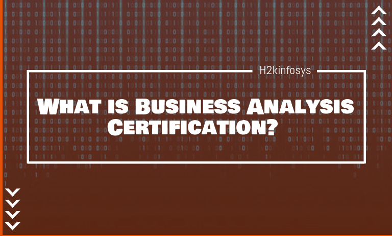 Business Analysis Certification