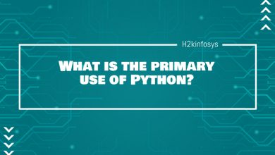 Photo of What is the primary use of Python?