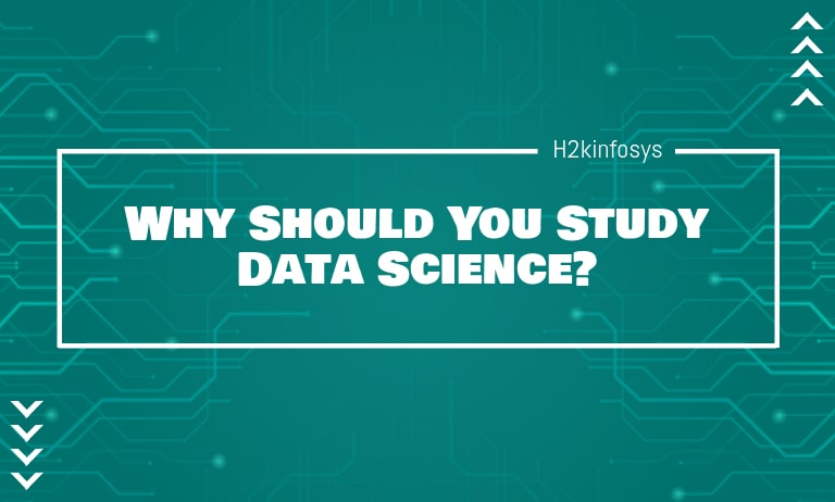 Why should study data science