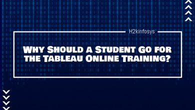 Photo of Why Should a Student Go for the Tableau Online Training?