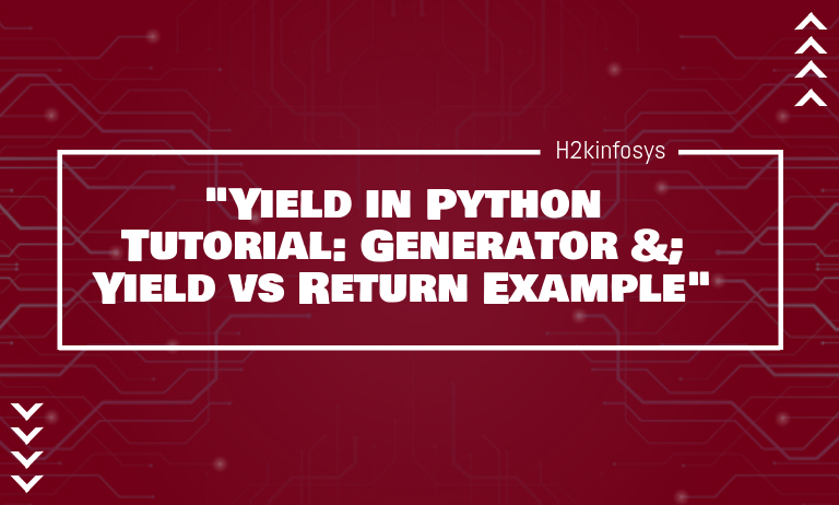 Yield in Python