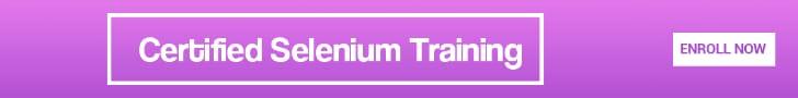 Certified Selenium Training Online