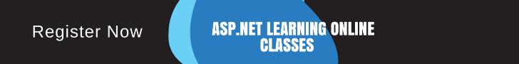 Asp.Net learning Online Classes
