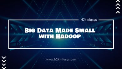 Photo of Big Data Made Small with Hadoop