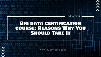 Photo of Big data certification course: Reasons Why You Should Take It