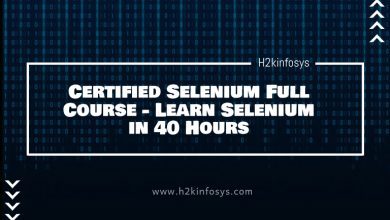 Photo of Certified Selenium Full Course – Learn Selenium in 40 Hours