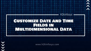 Photo of Customize Date and Time Fields in Multidimensional Data