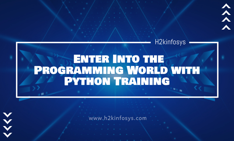 Enter Into the Programming World with Python Training