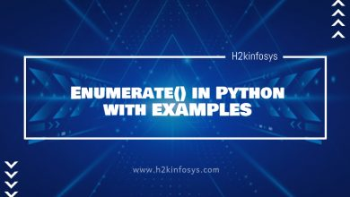 Photo of Enumerate in Python with EXAMPLES