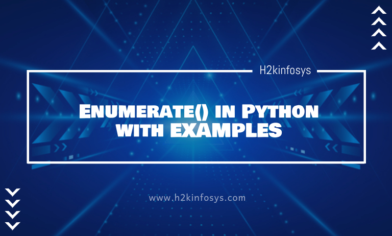 Enumerate in Python with EXAMPLES