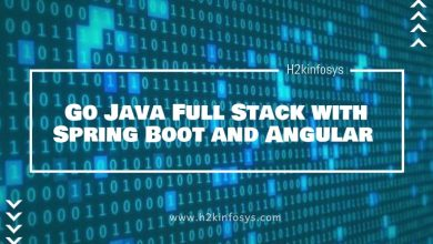 Photo of Go Java Full Stack with Spring Boot and Angular
