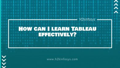 Photo of How can I learn Tableau effectively?