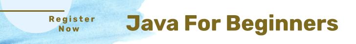 Java for beginners training online