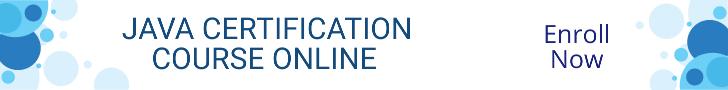 Java Certification Course Online.