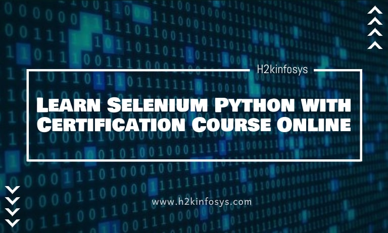 Learn Selenium Python with Certification Course Online-min