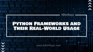 Photo of Python Frameworks and Their Real-World Usage