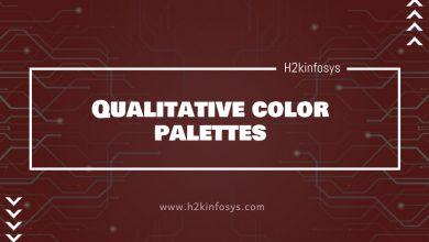 Photo of Qualitative color palettes