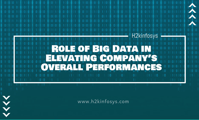 Role of Big Data in Elevating Company's Overall Performances