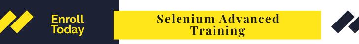 selenium advanced training