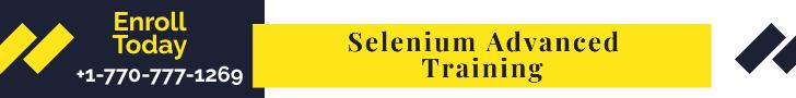 Advanced Selenium Training