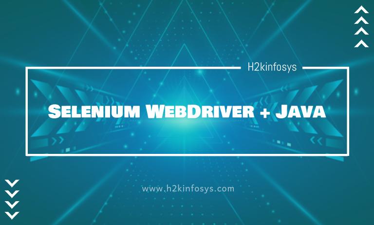 Selenium WebDriver + Java