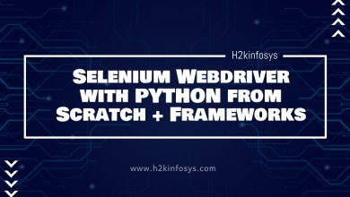 Photo of Selenium Webdriver with PYTHON from Scratch
