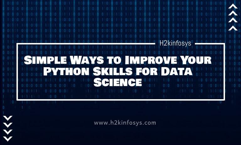 Simple ways to improve python data science