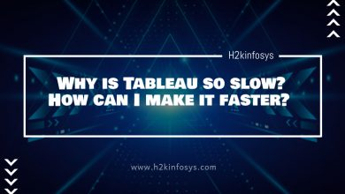 Photo of Why is Tableau so slow? How can I make it faster?